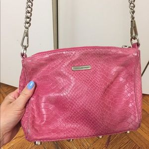 Authentic leather Rebecca minkoff bag 🌸adorable